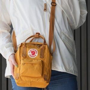 Fjallraven Kanken🍂🍁Sling Bag color: Ochre